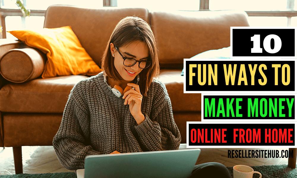 Ways to make money 2019 ways to make a living online make money from home 2019 Fun ways to make money online